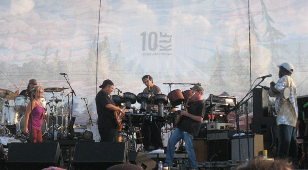10KLF '08 Highlight – Mickey Hart Band